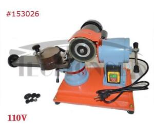 110V Circular Saw Blade Sharpener Grinding Machine Solid  Copper Motor 153026