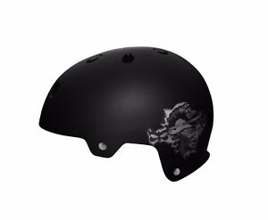 New Kali Maha Ghandi Bike / Skateboard Helmet - Black - MSRP $50