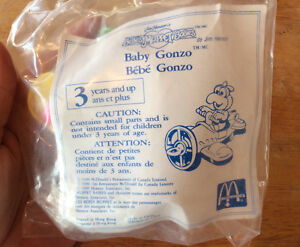 VINTAGE 1990 MUPPETS AND MCDONALD'S BABY GONZO AND 2 BABY PIGGY Gatineau Ottawa / Gatineau Area image 5