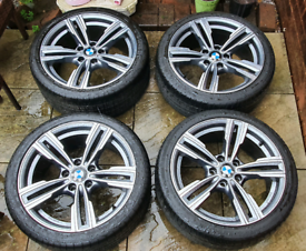 "18"" BMW Alloys Wheels Staggered 5x120 GMP ITALIA REVENS"