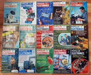 15 Vintage Popular Electronics Magazines 1958/1963 $25 for all