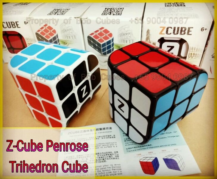 - Z-Cube Penrose Trihedron for sale ! Brand New Challenging Shapeshifter