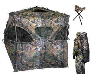 The Den Camo Hunting Blind