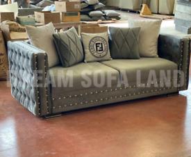 Fendi Chesterfield Sofa Set