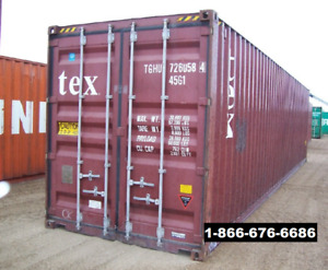 Storage Containers / Shipping Containers / Seacans