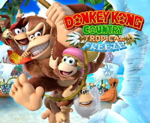 Donkey Kong County Tropical Freeze for Wii U