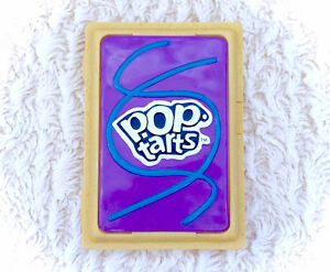 2004 Kelloggs Pop Tarts Purple Berry Carrying Travel Case Holder