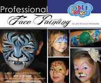 Professional Face Painting Services