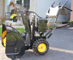 "Snowblower 24"" Poulan Pro 208cc MINT Shape"