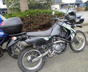 2009 KLR 650 Ready to Tour