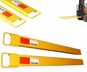 """NEW 72"""" INCH X 4"""" SKID STEER FORKLIFT FORK EXTENSIONS"""