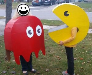 Pac Man & Blinky Costumes