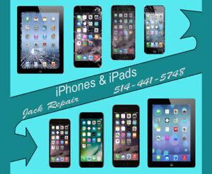 Repair iPhone screen / Réparation iPhone écrans