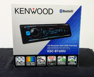 KENWOOD KDC-BT600U Bluetooth CD - Receiver with USB Interface.