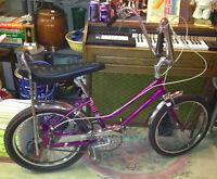 ★ Vintage 60's CCM Cheetah Banana Seat Bike ★