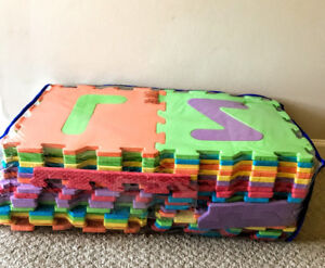 Letters and Numbers Foam Mat (32 pcs)