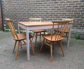 Ercol Elm Dining Table Desk Vintage Retro Delivery Available