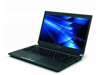 "Toshiba Portege i7 128 ssd webcam HDD 8GB RAM Windows 7 Pro 13"" Laptop"