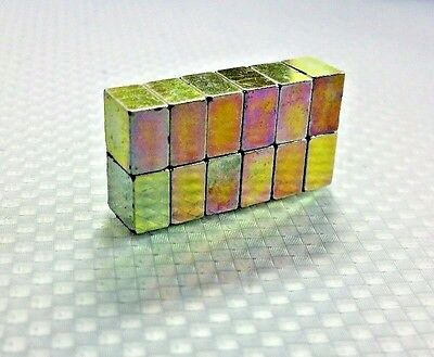 20 Neodymium Cube Magnets. N52 Super Strong Rare Earth 8mm 8mm 5mm