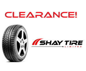 Winter tires at CLEARANCE prices!! Tons of sizes available!