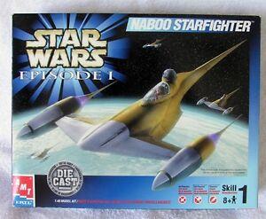 STAR WARS - Die-Cast Naboo Starfighter