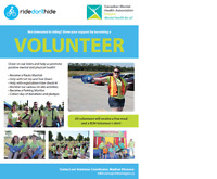Ride Don't Hide- Great Volunteering Opportunity-  June 25th