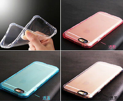 Luxury Shockproof Rugged Hybrid Rubber TPU Case for Apple 7 Plus iPhone 6 6S US