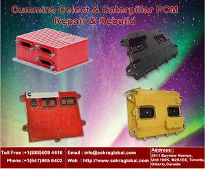 Cummins Celect L10, M11, N14 ECM & Caterpillar ECM  Repair