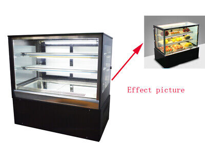 Countertop 220v Refrigerated Cake Showcase 35.4in Energy Saving Display Cases