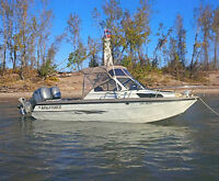 2003 KingFisher 2225 with twin Honda 90 HP outboards