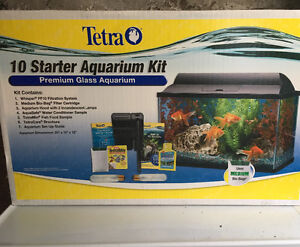 Tetra aquarium kit-10 gallon