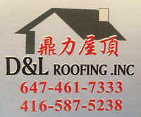 D&L Roofing Inc.GOOD QUAILTY  Free Estimates