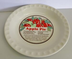 Vintage Sunnycraft Apple Pie Plate