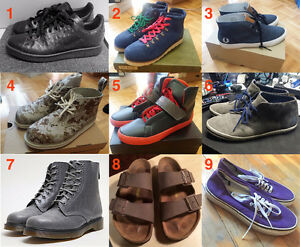 Mens Shoes ($15 to $120) Adidas Dr Marten Fred Perry Vans Birks