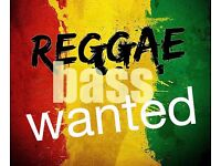 Reggae Bass Player Wanted for a reggae band based in Watford