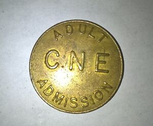 vintage brass CNE admission coin London Ontario image 2