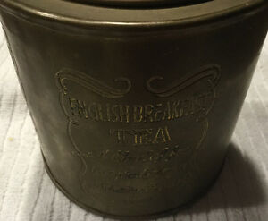 Brass English Breakfast Tea container  Best Offer London Ontario image 2