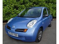 2004 Nissan Micra 1.2 S 5dr Hatchback, Low Mileage, Only 42,117 Miles, New MOT, Service History.