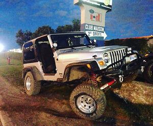 2004 Jeep TJ 4.0l inline 6 Coupe (2 door)