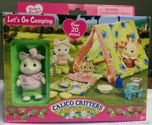 NEW: Calico Critters - Let's Go Camping