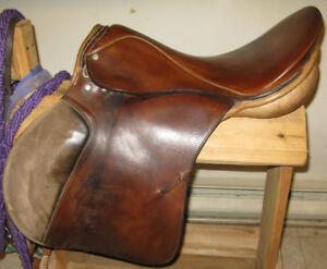 Theo Sommer English Saddle for Sale