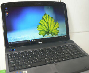 "acer 15.6"" HD Dolby Surround ready Core i3 2.13ghz 4gbRam Win 10"