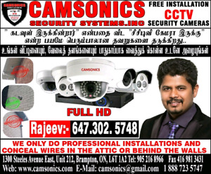 CCTV HIGH DEFINITION SECURITY CAMERA SYSTEM INSTALLATION