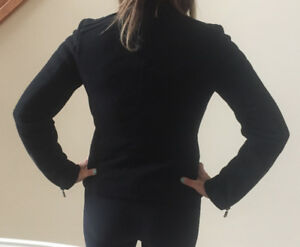 Ladies Black Gap Coat - Size XS - BEAUTIFUL