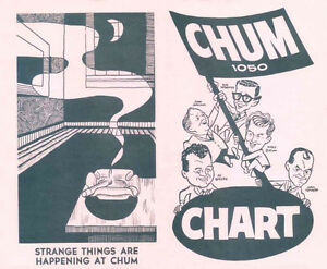 Buying CHUM HIT PARADE CHARTS from radio station 1050 CHUM Kitchener / Waterloo Kitchener Area image 5