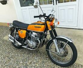 HONDA CB750 FOUR - PRISTINE RESTORED AND UN-USED - SIMPLY STUNNING - POSS PX