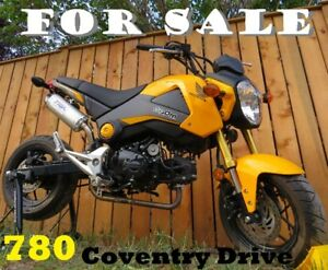 2015 Honda Grom .......... only 465 kms ....... will PRICE MATCH