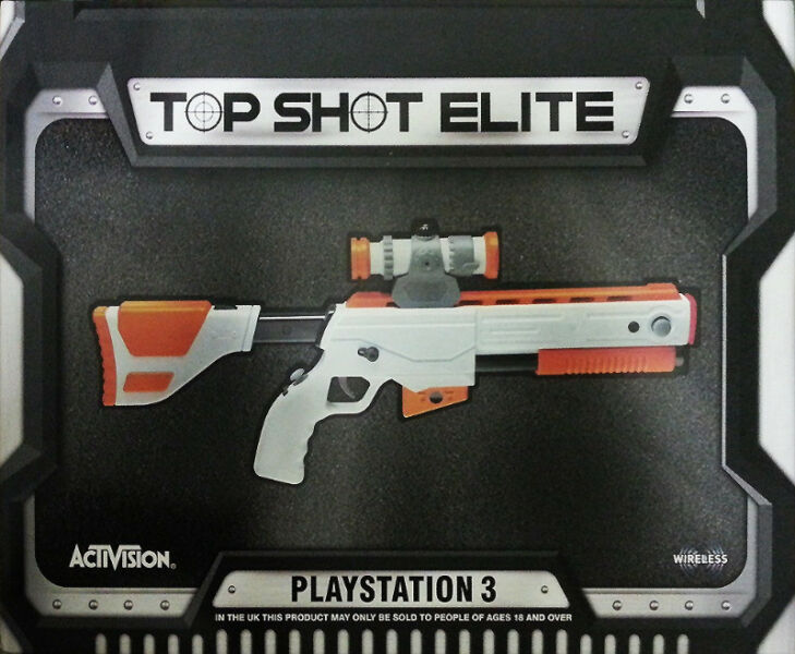 PS3 Top Shot Elite Gun (brand new)