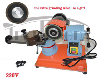 220v Round Carbide Saw Blade Grinder Mill Sharpener Grinding Machine Premium New