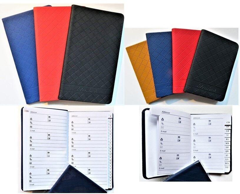 Telefonbuch untersch. Farben / Größen Adressbuch Adresskartei Telefonregister